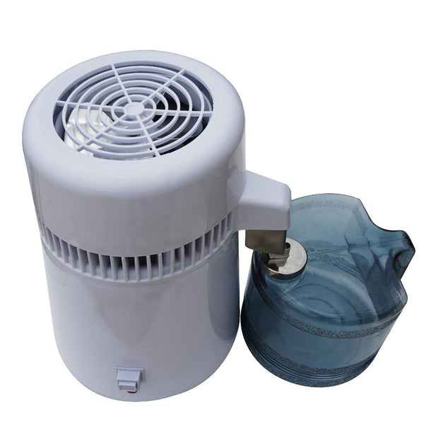 Water distiller 220v 20ml stainless steel body filter pure purifier 750w safest hospital generation