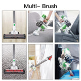 High power vacuum cleaner LED light portable handheld cordless stick 3 in 1