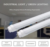 LED tubes 22w 28w t8 tube lamp 4ft 1200mm ac90-260v single/double row 2 years warranty ce rohs
