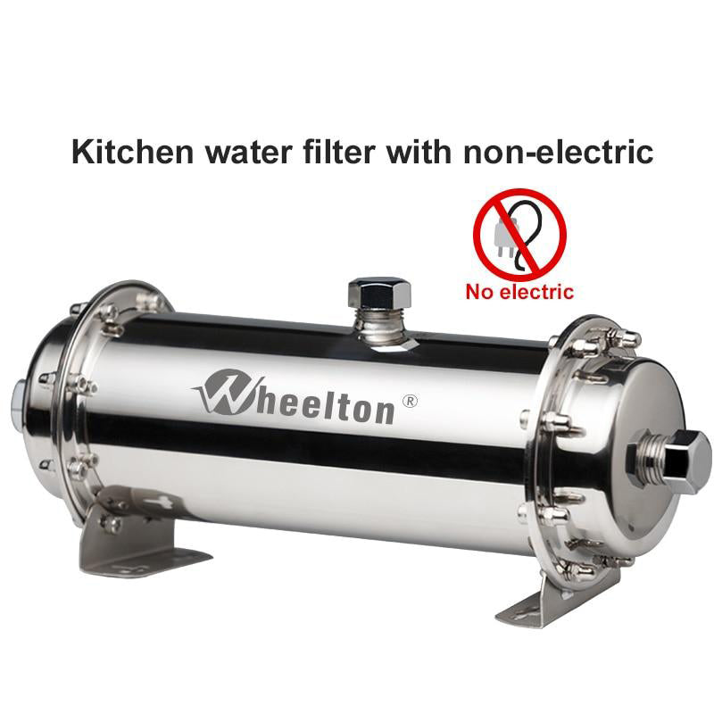 Water filter stainless steel ultrafiltration purifier 380L commercial home kitchen drink straight uf filters