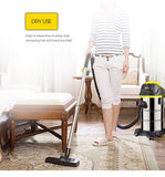 Vacuum cleaner barrel type 800w wet dry cleaning machine du100 low noise home canister large suction appliances