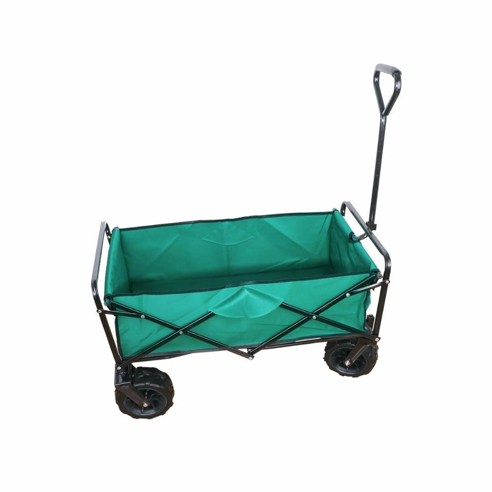 Garden cart outdoor canvas fabric beach sport picnic fold for easy carrying large space load