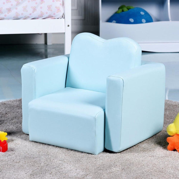 Table chair set multi-functional kids armchair sofa gift living room boys girls
