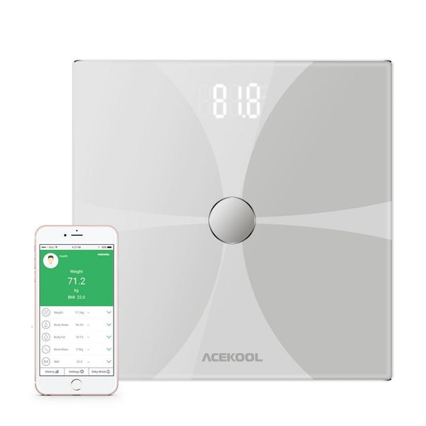 Body fat scale bluetooth floor scientific smart electronic digital bathroom scales display weight water muscle mass bmi
