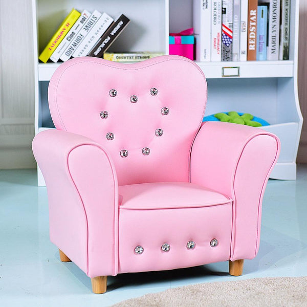 Sofa armrest chair couch children toddler birthday gift girls teen modern furniture