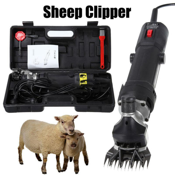 Electric farm shears 320w 110v sheep alpaca goats wool shearing clipper machine low noise