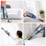 Vacuum cleaner 2-in-1 handheld portable cordless stick strong suction with search lights aspirator