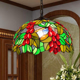 Pendant light shade bohemia glass mediterranean grape design decorative lighting d30cm