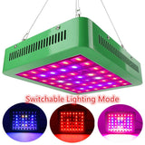 Switchable LED grow light 300w full spectrum lamp ac85~265v for indoor plant greenhouse hydroponic seeding flowering growth