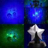 Canvas prints popular stars twilight sky novelty night lamp led laser dimmable flashing atmosphere christmas bedroom