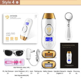 Laser hair removal  permanent epilator touch LCD display depilador a bikini trimmer photoepilator