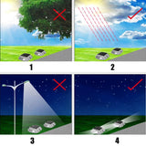 LED pathway lights outdoor waterproof 8pcs pack solar 6 driveway security dock step road safety marker