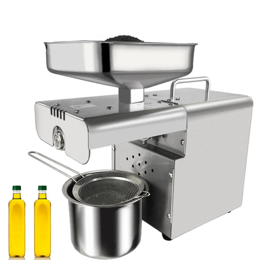 Oil maker fully automatic small stainless steel home press machine for peanut soybean etc.