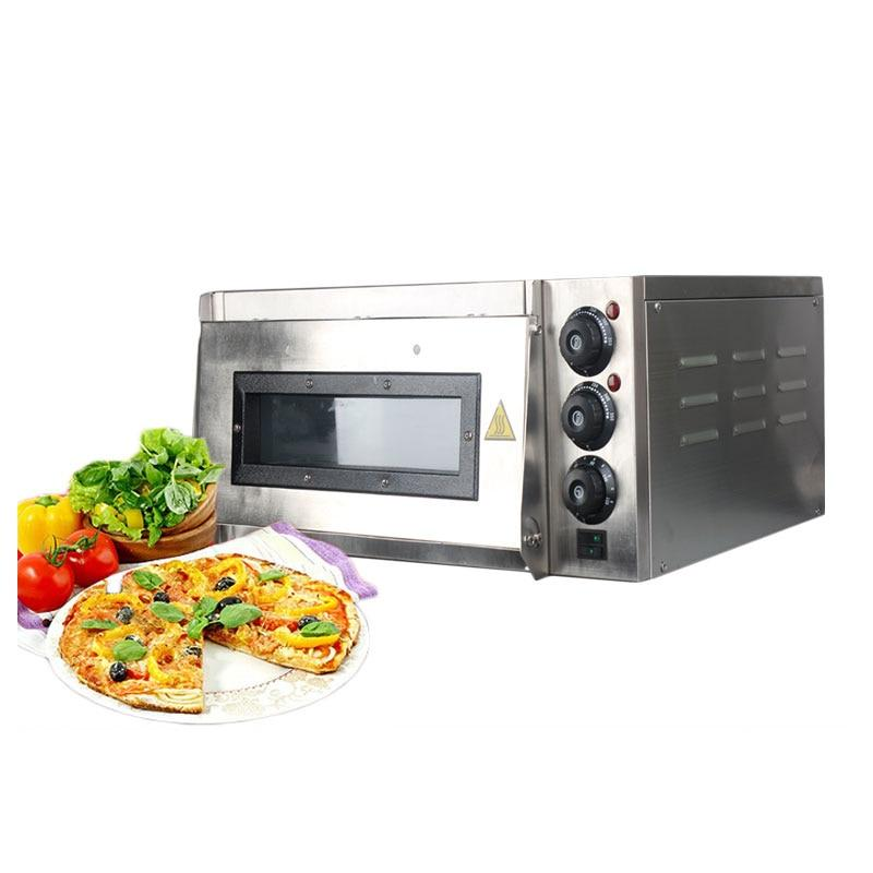 Pizza oven stainless steel electric cake roasted chicken cooker commercial use baking machine 220v long-time working