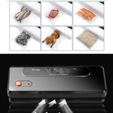 Multi-function food vacuum sealer wet dry dual use household home automatic sealing packer plastic bag packing machine