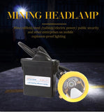 Headamp 1+2 LED safety minining explosion proof mining cap waterproof lights for hard hats