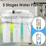 Water purifier 5 stage ultra filtration system uf drinking faucet household home kitchen