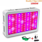 LED grow light 300/600/800/1000/1200/1500/1800/2000w full spectrum for indoor greenhouse tent plants