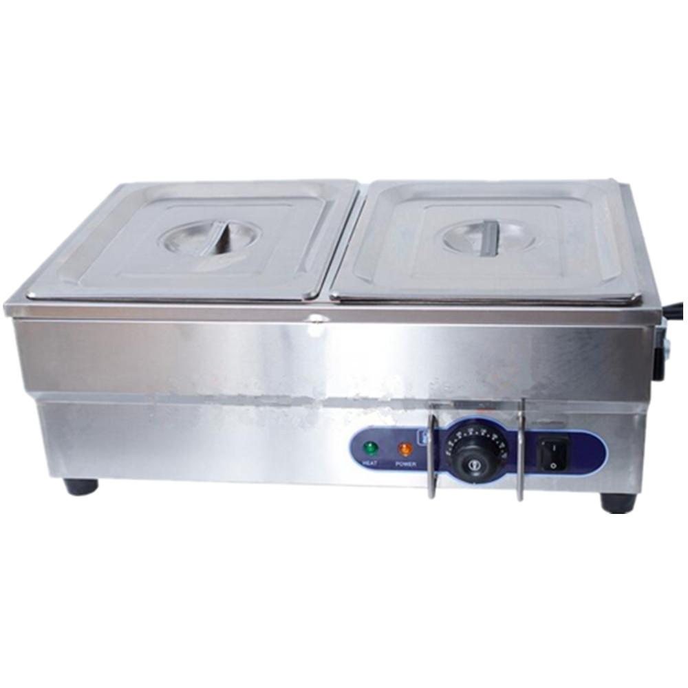 Food warmer stainless steel electric bain marie buffet container soup stock pots for commerical kitchen catering equipment machi