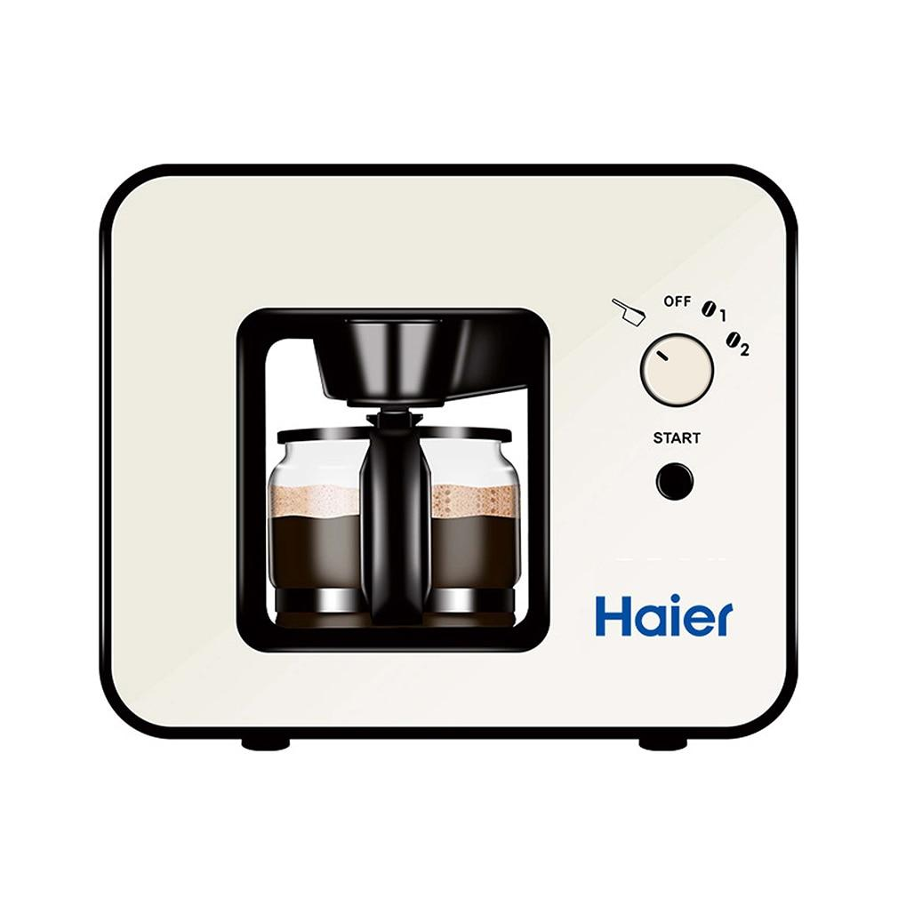 Electric coffee maker skl-w003 modern design 4 cups over-heat protective cappucina mocca grinder machine