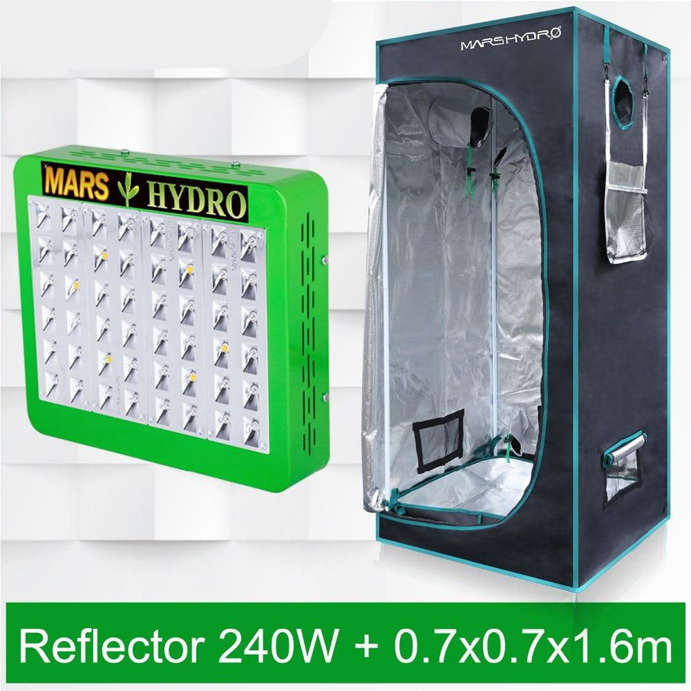LED grow light hydro panel reflector 300w hydro+70x70x160 indoor tent kit for indoor plants growing veg flower