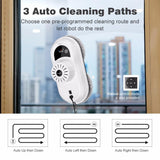 Window cleaning robot finether multi-surface remote control interior exterior windows walls doors desks robotic cleaner