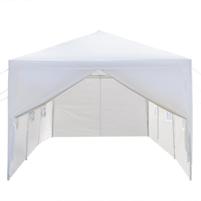 Canopy tent 3x9m 5 sides/8 sides waterproof large parking shed wedding party outdoor camping pavilion