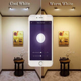 LED wifi smart lamp 10/20pcs bulb 5w dimmable light apps remote control workS with alexa/google/ifttt