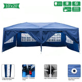 Four windows tent 3 x 6m  camping ship beach open anti uv awning outdoor sun shelter practical waterproof folding