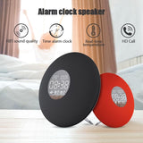 LED digital alarm clock 3600mah wireless bluetooth speaker temperature display version 4.2 with remote control wekker