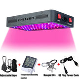 LED grow light 600w 900w 1200w full spectrum double switch for greenhouse hydroponic indoor plants veg flower