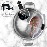 Slow cooker digital cook immersion heater circulator accurate temperature control lcd display