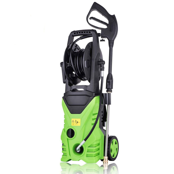 Pressure washer electric 1800w 3000 psi household cleaning tool remove surface tar from cars garden waste dirt