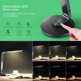 LED desk lamp mpow le004 touch-sensitive control eye-protection table with dimmer for bedroom reading working studying