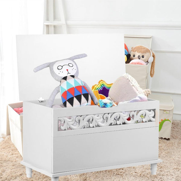 Storage chest modern living room cabinets rectangle large toy blanket ottoman furniture