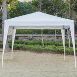 Folding tent right angle 3 x 3m shed two doors windows practical waterproof with carry bag fast