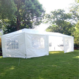 Seven sides tent portable home use waterproof 3 x 9m with spiral tubes easy to install assemble