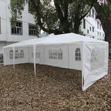 Five sides tent 3 x 9m with spiral tubes waterproof