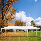 Canopy tent 3x9m waterproof outdoor camping eight sides two doors parking shed wedding party large pavilion