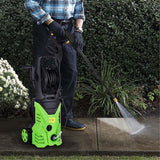 High pressure washer portable electric 2600 psi 1800w dc 220v 3000psi garden cleaning machine cleaner