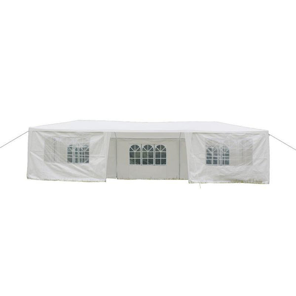 Wedding tent party garden decorations 3x9m seven sides portable home use waterproof spiral tubes parking shed