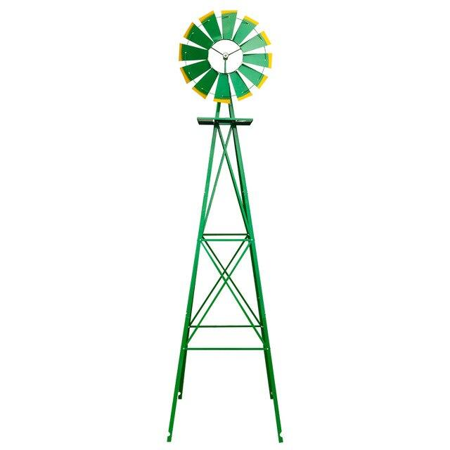 Garden windmill 8ft weather resistant yard