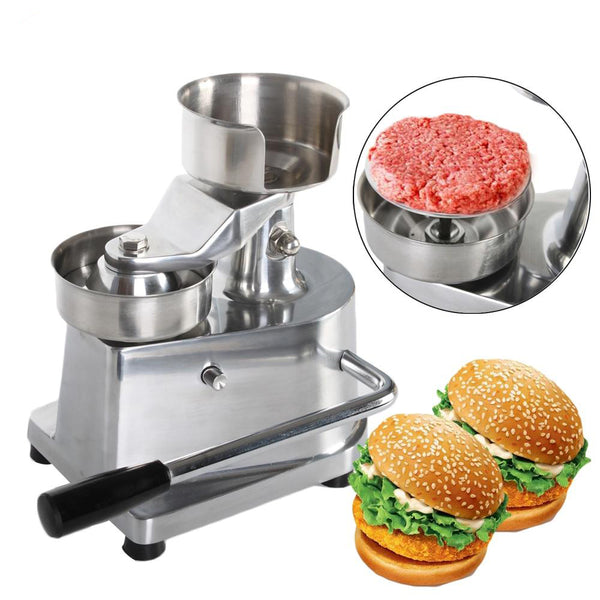 Hamburger press manual burger meat machine patty maker aluminum alloy 100mm/130mm for household restaurant