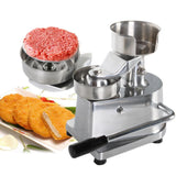 Manual hamburger press 100mm-130mm burger forming machine round meat patty makers