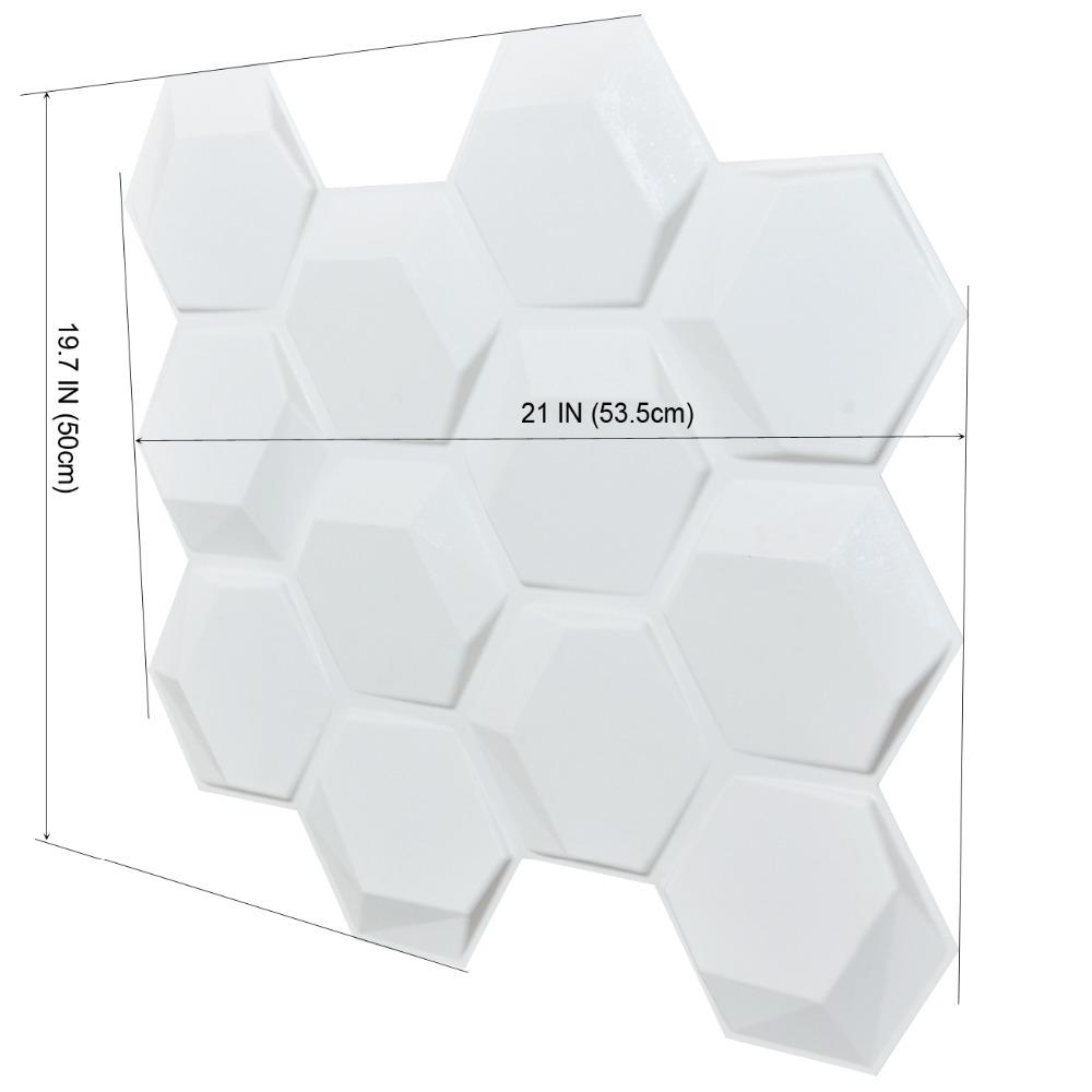 3D wall panels paintable for interior background decor logo
