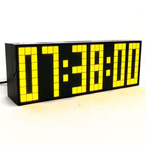 LED alarm clock display countdown digital temperature timer snooze calendar bedroom kids gift