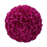 Flower balls 10pcs 25cm wedding decoration satin hanging ball party home