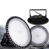 LED lights UFO high bay2pcs ultraslim 100w 110v 220v waterproof ip65 commercial industrial warehouse lamp