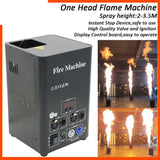 stage flame dmx control ignition fire machine spray effect projector with safe channel