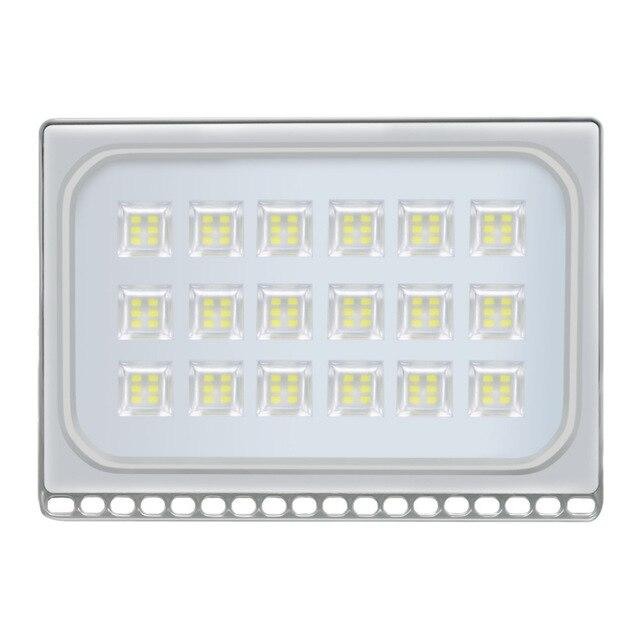 LED floodlights 5pcs 100w ip65 waterproof refletor lamp spotlight for square wall outdoor lighting 220v 110v